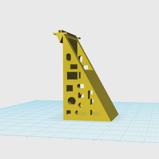 Screen Shot 2019-09-09 at 6.48.16 PM.png Download free STL file GIRAFFE • 3D print model, NIZU