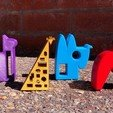 1_Animals_all.jpg Download free STL file GIRAFFE • 3D print model, NIZU