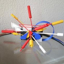 Object7.jpg Download STL file Object 7   Modern Art Object • 3D printable template, TobiTorok