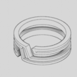 Download free 3D printer designs Modern Ring, TarFox