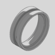 Download free STL file Primal Unisex Ring, TarFox