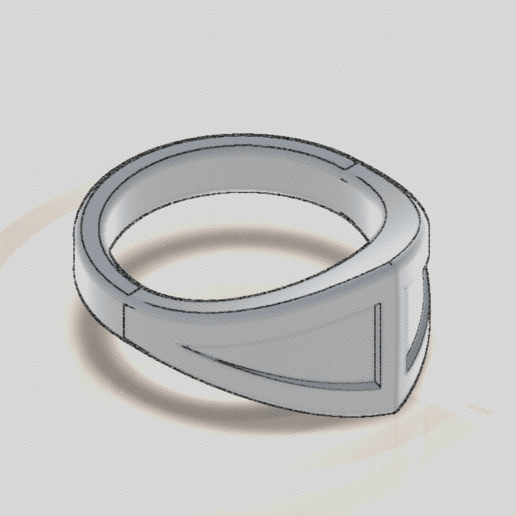Screenshot (295).png Download STL file Primal Male Ring • 3D print model, TarFox