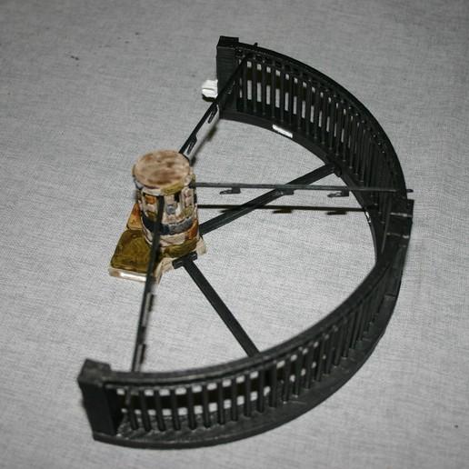 Download gratis 3D-printermodel Openlock Cell Trap Room (WIP), Alonicus