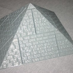 Pyramid_Worn_1.JPG Download free STL file OpenLOCK / Openforge Pyramid Building Tiles - Set 2, Worn Casing Stones • 3D printable object, Alonicus
