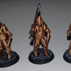 Download free 3D printing models Construct Servants for D&D, Alonicus