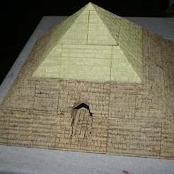 Pyramid.JPG Télécharger fichier STL gratuit Entrée du donjon de la pyramide OpenLock • Design à imprimer en 3D, Alonicus