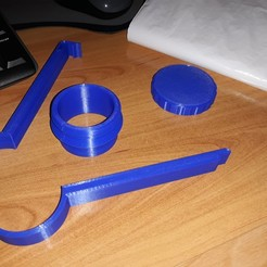 Download free 3D printer templates Bag clips, Yoyo81