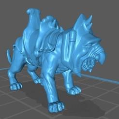 Battle Cat screen4.jpg Télécharger fichier STL Chat de bataille • Design à imprimer en 3D, Nightbreezer