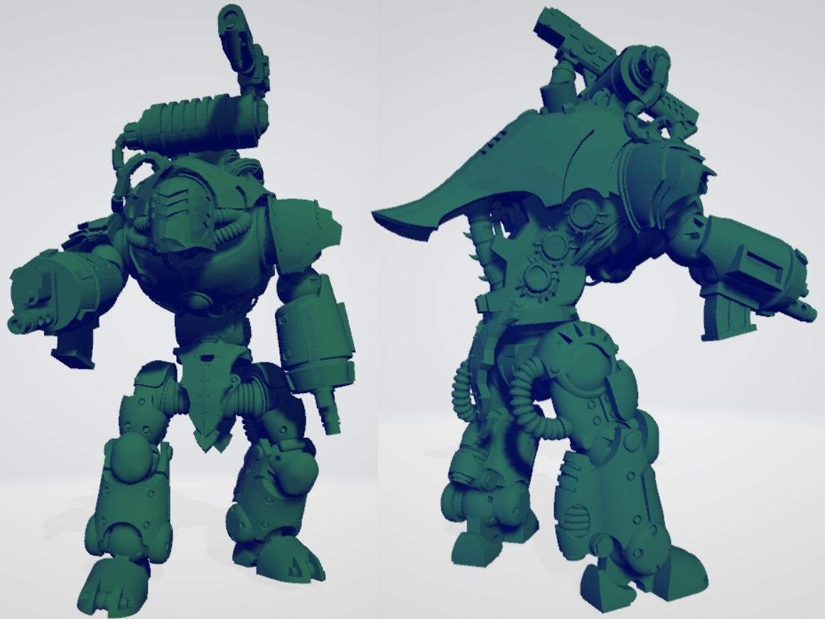 kastellos_thumbnail.jpg Download free STL file Grimdark Chrono Trigger Bits • 3D printer object, ErikTheHeretek