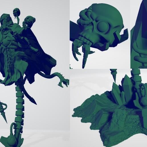 Télécharger plan imprimante 3D gatuit Adepte de la mécanique martienne - Commanipularis, ErikTheHeretek