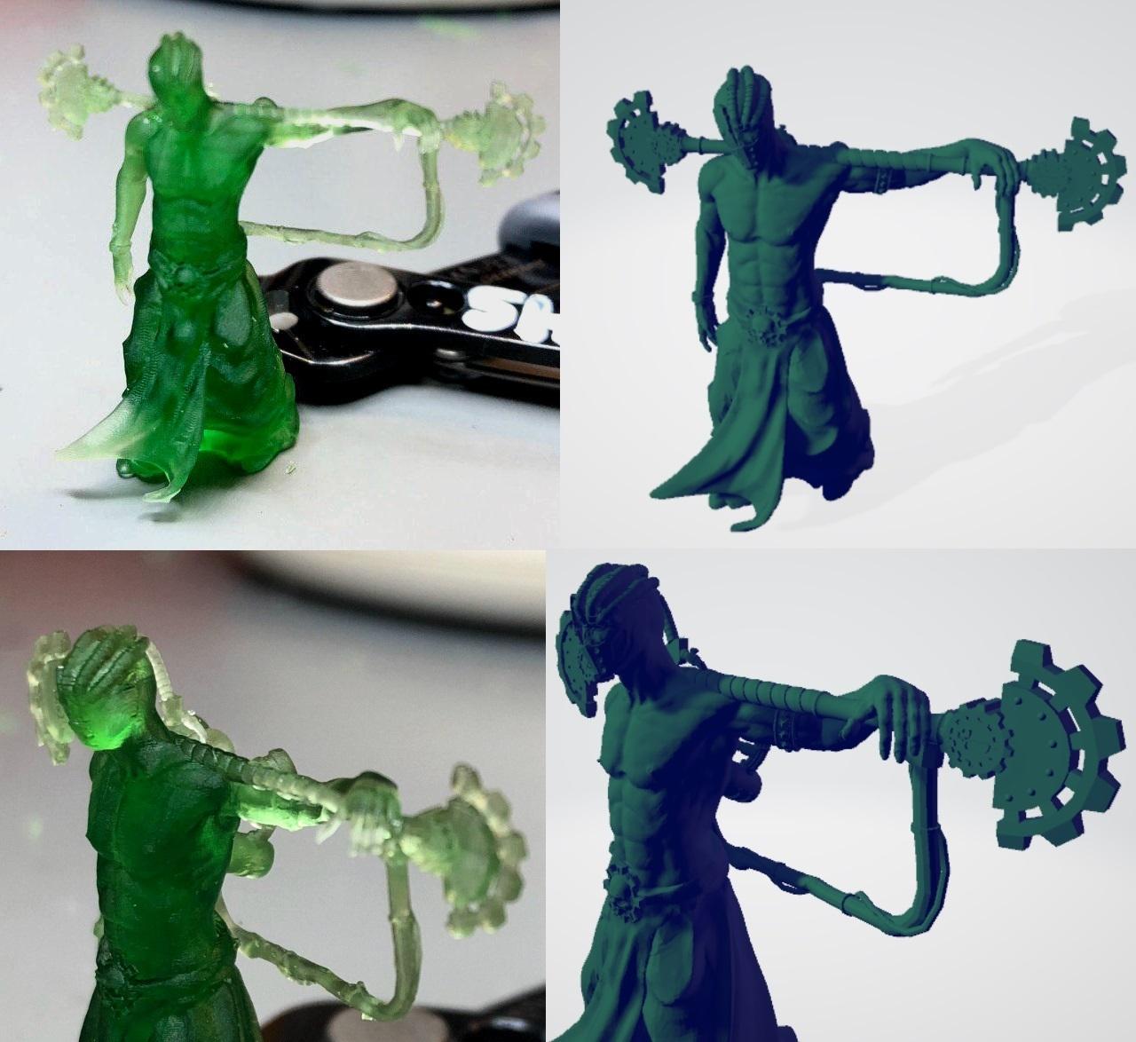 Fulgurite_printed.jpg Download free STL file Martian Electric Clergy • 3D print design, ErikTheHeretek