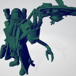 Download free 3D printer designs Martian Info-Artisan, ErikTheHeretek