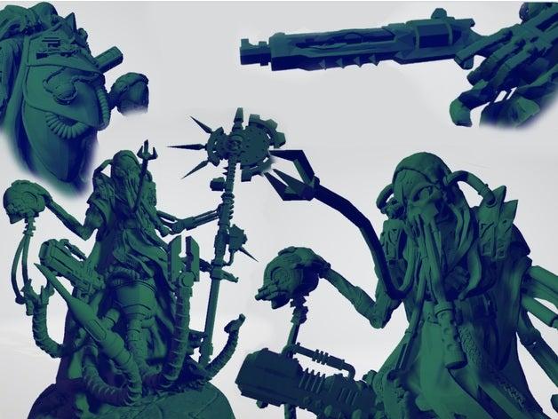 951dcd2db581e1e3c2611c2b9aa60602_preview_featured.jpg Download free STL file Martian Machine Prophet • 3D printer template, ErikTheHeretek