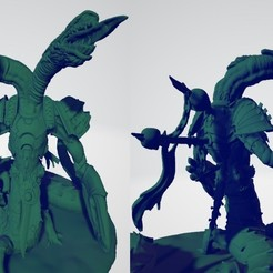 Download free STL files Two-Headed Demonic Heir, ErikTheHeretek