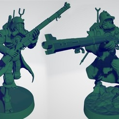 Ranger_thumbnail_2.jpg Download free STL file Martian Mechanized Rangers • 3D printable object, ErikTheHeretek