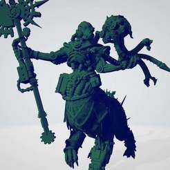 Download free 3D printing templates Heretical Machine Cleric, ErikTheHeretek