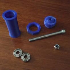 Descargar diseños 3D gratis Portacarretes Ender, Blackwyche