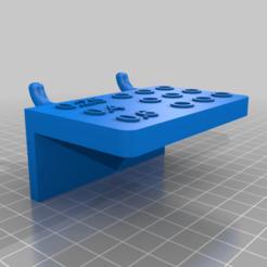 Pegboard_Holder_for_E3D_v6_nozzles.png Download free STL file Pegboard Holder for E3D V6 Nozzles • 3D printing model, fuchsr