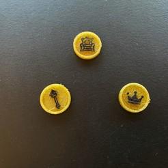 Imprimir en 3D gratis Actualización de Fichas de Reliquias para el Saqueo del Pueblo, fuchsr