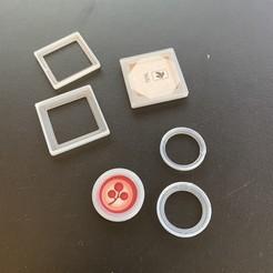 Impresiones 3D gratis Estuches personalizados para fichas de juegos de mesa, fuchsr
