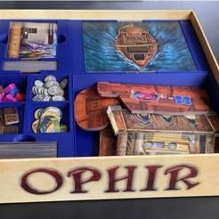 Impresiones 3D gratis Insertar/Organizador para Ophir, fuchsr