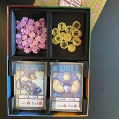 Impresiones 3D gratis Modded Village Pillage Boardgame Insert / Organizador, fuchsr