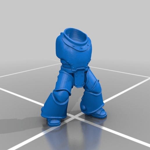 Télécharger fichier imprimante 3D gratuit Corps du Space Marine Power Armour Mark 3, LoggyK