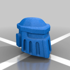 Download free 3D printer model [OUTDATED] Mark 2 Helmet, LoggyK