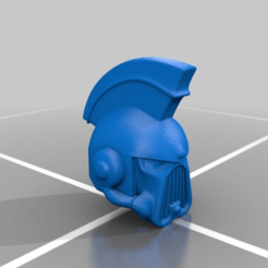 Download free STL file Kharn Helmet WIP • 3D printer template, LoggyK