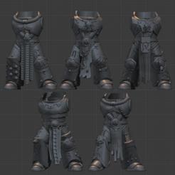 Descargar Modelos 3D para imprimir gratis Cuerpos de la 4ª Legión, LoggyK