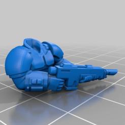 Download free STL file Kasrkin Torsos x3 • 3D printable design, LoggyK