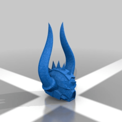 Download free STL file Spikey Helmet • 3D printable design, LoggyK
