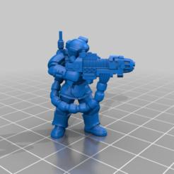 Descargar archivos 3D gratis Kasrkin con la pistola de plasma 2, LoggyK