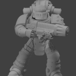 Download free 3D printer templates Modular Marines pt2 [Mark 2 Tactical], LoggyK