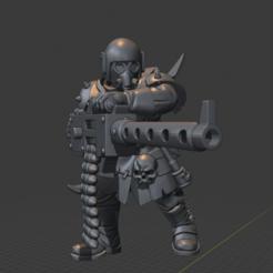 Télécharger fichier impression 3D gratuit Un type nerveux avec un fusil lourd 2, LoggyK