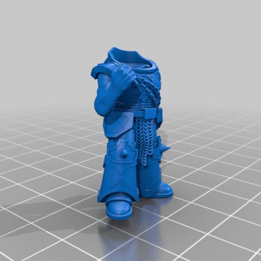 honsou_body.png Télécharger fichier STL gratuit Le guerrier métis • Objet à imprimer en 3D, LoggyK