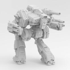 Descargar archivos 3D gratis Mechwarrior Online Hellfire, IonRaptor