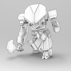 Download free 3D printing designs Caveman, IonRaptor