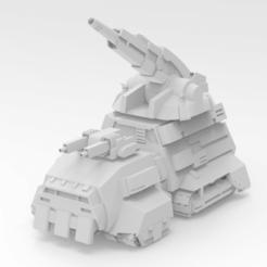 Descargar STL gratis Battletech Gulltoppr, IonRaptor
