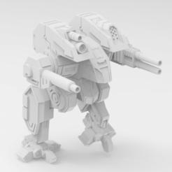 Download free 3D printer files Mechwarrior 4 Hellhound, IonRaptor