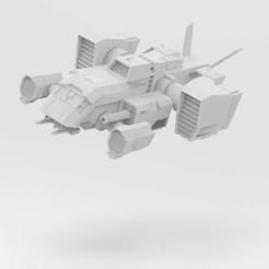 Descargar archivos STL gratis Battletech Strix, IonRaptor