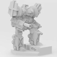 Télécharger modèle 3D gratuit Templier de Battletech, IonRaptor