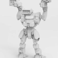 Télécharger plan imprimante 3D gatuit Battletech Fire Moth / Dasher, IonRaptor