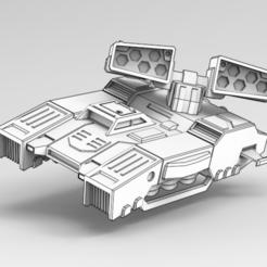 Download free 3D printing templates Tempest MLRS, IonRaptor