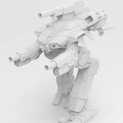 Descargar diseños 3D gratis Battletech Marauder II, IonRaptor