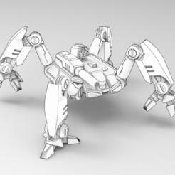 Scorp1.PNG Download free STL file Scorpius  • 3D printable design, IonRaptor
