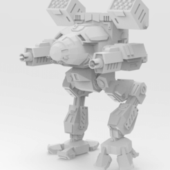 Download free STL files Mechwarrior 4 Mad Cat MKII, IonRaptor