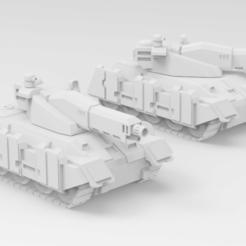 Descargar archivos STL gratis Battletech Schildkrote, IonRaptor