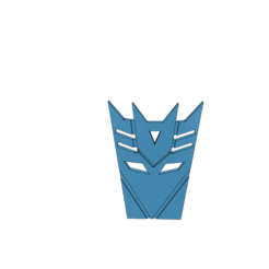 Download 3D printing designs transformer emblem, tabbycat123