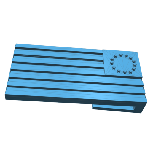 Télécharger fichier 3D beau nouveau drapeau, tabbycat123